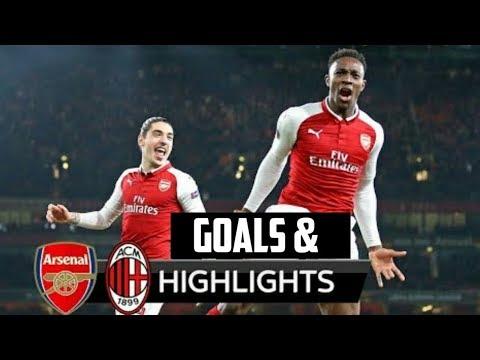 Arsenal vs Ac Milan 3-1 (15-03-18) All Goals And Highlights | Europe League 2nd Leg