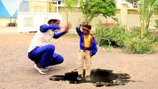 "छोटू का गेम | ""CHOTU ki JaduiTRICK MASTER"" | Khandesh Hindi Comedy Video | Chotu Comedy"