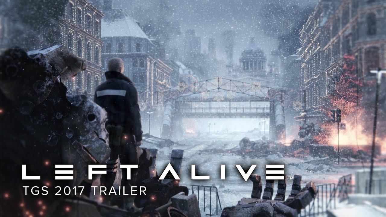 Left Alive - Trailer di annuncio del TGS 2017
