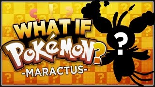Maractus  - (Pokémon) - What if Maractus Were Fire Type?