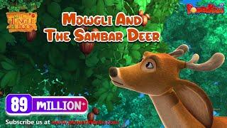 The Jungle Book Hindi Cartoon for kids compilation | Mogli Cartoon Hindi |Mowgli and the Sambar Deer