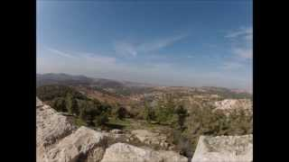 preview picture of video 'Ajloun Castle 2014'