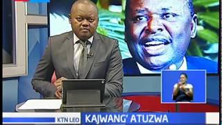 Marehemu Otieno Kajwang' atuzwa