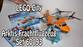 LEGO Arktis-Frachtflugzeug (City-Set 60193 im Review)