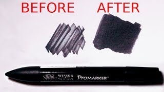 Use This Simple Trick To Make Dried Out Markers Work Again! - Promarker Tutorial