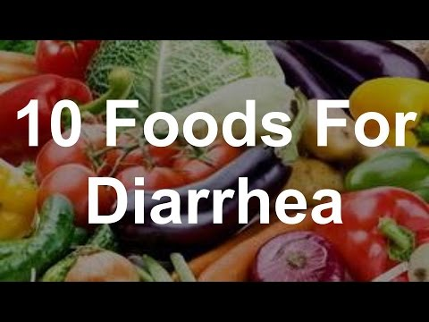 Best Foods For Watery Diarrhea