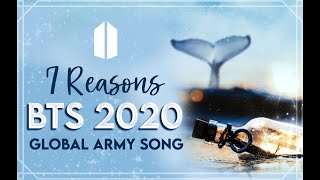 """2020 Global ARMY Song """"7 Reasons"""" Official MV -Gracie Ranan ft. ARMY (Turn on English CC)"""