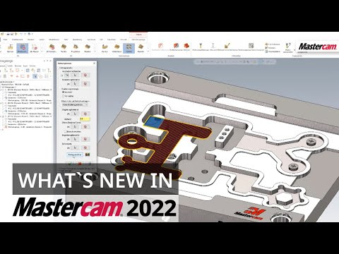 What`s New in Mastercam 2022: Bereichsverkettung