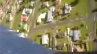 preview picture of video 'PZ Corsair crash (onbd. footage)'