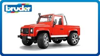 """Внедорожник-пикап Land Rover Defender 02-591 от компании Интернет-магазин """"Timatoma"""" - видео"""
