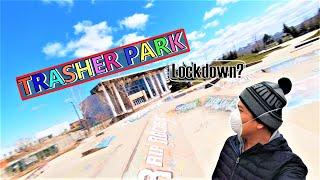 SKATEBOARD PARK lockdown | TRASHERS PLAYGROUND lockdown | FPV sa CANADA!