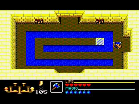 Golden Axe Warrior (Sega Master System) - Dungeons 1-4