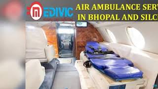 Get Full Hi-fi Medical Support Charter Air Ambulance Service in Jamshedpur