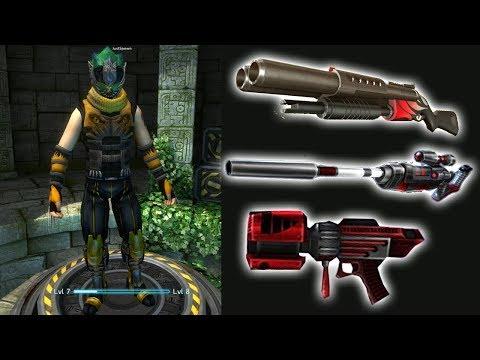 Uberstrike #1 - Death Hammer,Fusion Lance,Painzerfaust [Fort Winter Map]