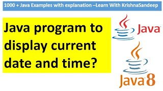How to dispay current date and time in java(SimpleDateFormat