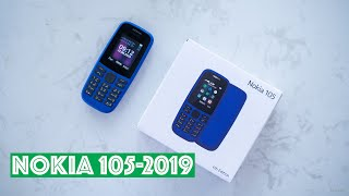 Nokia 105 4th Edition 2019 Unboxing | Nokia 105 new Blue | Unbox LKCN
