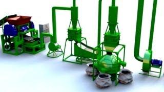 Оборудование для переработки шин в крошку (Tire Recycling Equipment - Crumb Rubber)