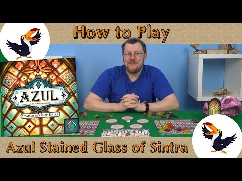 Azul Stained Glass of Sintra How to play