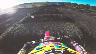 GoPro View: Ken Roczen Ripping on Jeremy McGrath's '96 Honda CR250