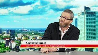 Grzegorz Braun: Żałuję, że Adamowicz nie stanie przed sądem ludzkim
