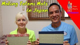 Poor Man's DIY: Making a Tatami Mat in Japan