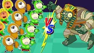 Wolfoo Hindi |  बच्चों के कार्टून | Little Wolf Pretend Play Game Plants vs Zombies