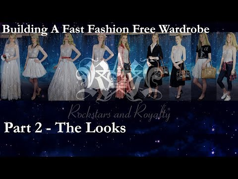 How To Build A Versatile Wardrobe Without Fast Fashion Part 2. Rockstars and Royalty With Nina Gbor