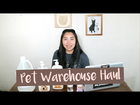 Why Pawspins? + Pet Warehouse Haul! (Taglish)