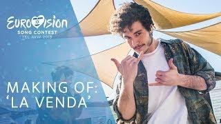 'LA VENDA': Making of VIDEOCLIP   Eurovisión 2019