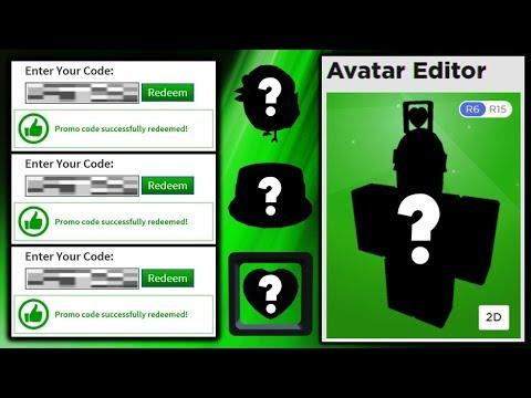Roblox Avatar Promo Codes