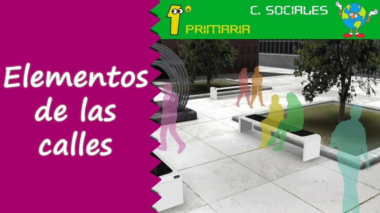 Ciencias Sociales. Tema 3: Los elementos de la calle