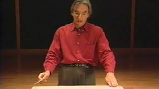 Michael Tilson Thomas Conducting Lesson
