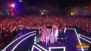 Marvel Studios' Avengers: Infinity War Red Carpet Fan Event   Aftermovie