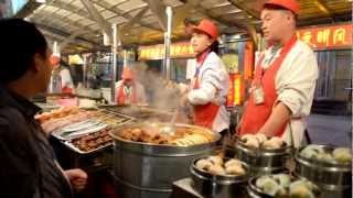 preview picture of video 'Food in Beijing - Wangfujing Snack Street'