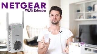 Netgear WLAN Verstärker EX3800 / AC750 - Repeater / Extender