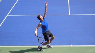 ATP Tennis Serve Slow Motion Compilation 2020 - Federer - Nadal - Sampras