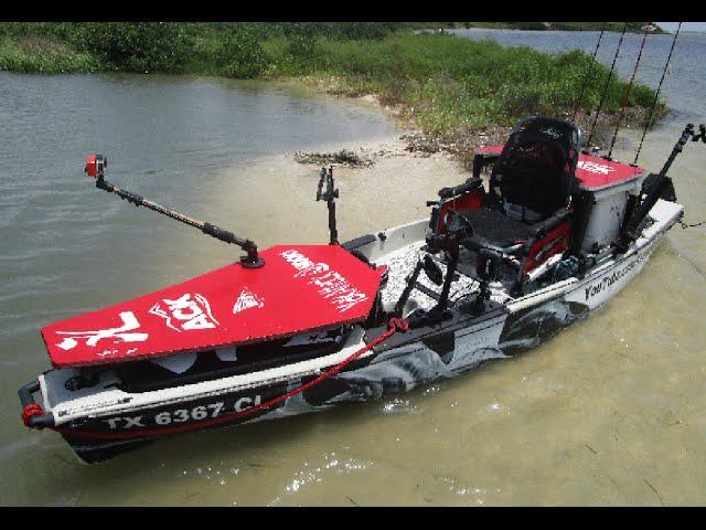 Kayak Casting and Poling Platform