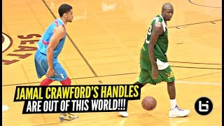 Jamal Crawford Dribbles at Defender BACKWARDS & Then Proceeds To DESTROY EVERYONE!! Insane Handles!