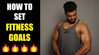 How To Set Fitness Goals [Hindi]
