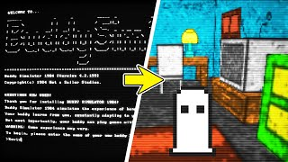 This game evolved from a text based game to a 3D first person game