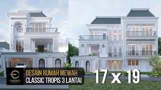 Video Desain Rumah Classic 3 Lantai Ibu Christine di  Bandung, Jawa Barat