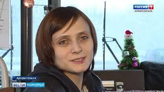 Создать новогоднюю сказку решили водитель и кондуктор автобуса в Архангельске