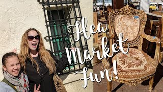 Thrifting At The Flea Market-Shop With Us-Home Decor And Antiques!