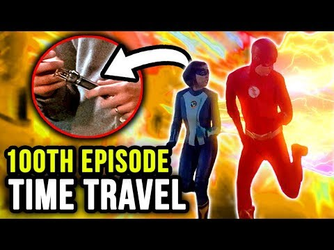 Is THIS Why Barry & Nora Travel Back in Time? - The Flash Season 5 Episode 8 Promo