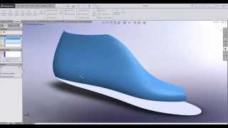 SolidWorks flattening | Trick to flatten a complex surface