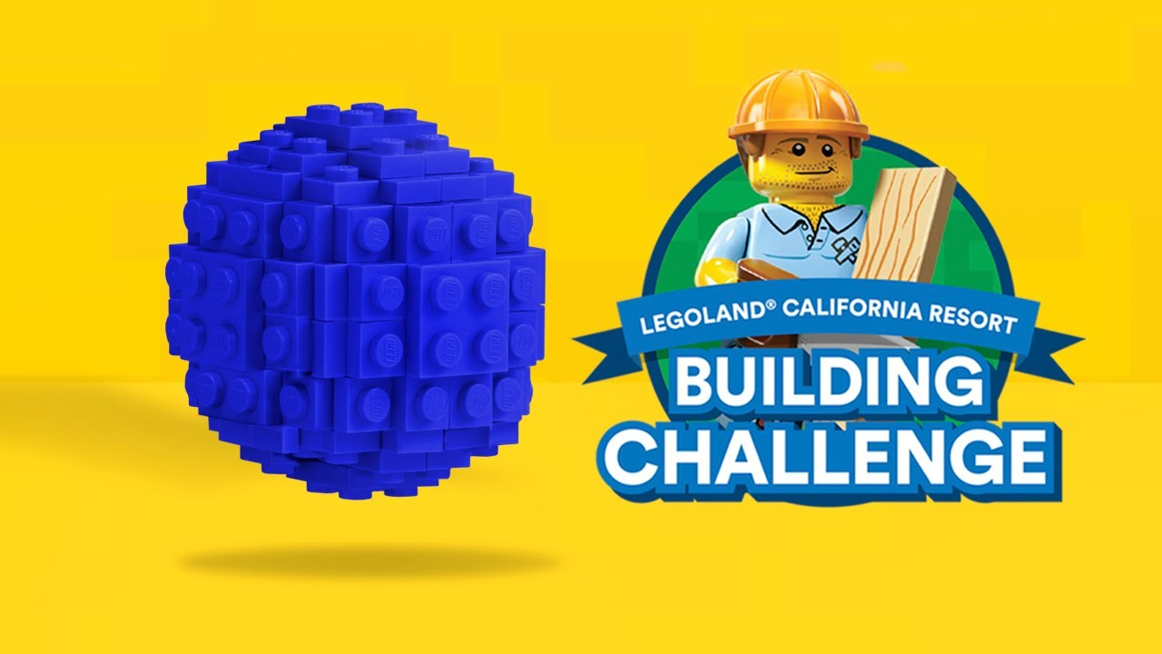 LEGOLAND California | LEGO Sphere Build Through with a Master Builder