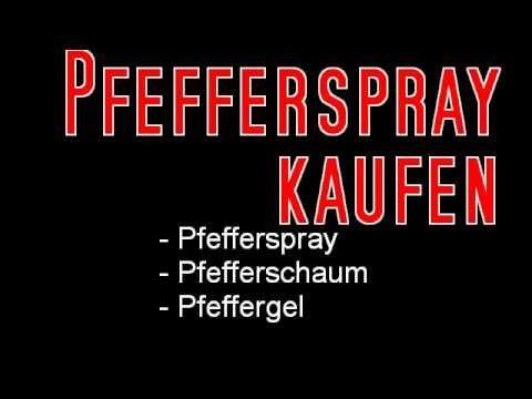 Pfefferspray kaufen - 10 wichtige Tipps