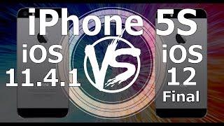 iPhone 5S : iOS 12 Final vs iOS 11.4.1 Speed Test (Build 16A366)