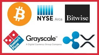 NYSE Arca Bitwise Bitcoin ETF - Argentina Paraguay, Dominos Bitcoin - Grayscale - XRP Ledger Update