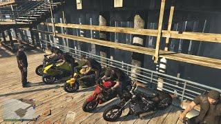GTA 5 Online: Tập 12 - Lập Team Đi Phượt Núi Cao Nhất Bằng Xe Moto